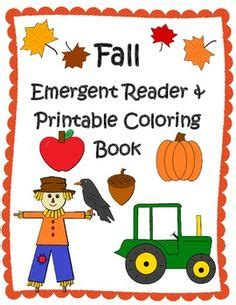 leaves fall down printable book emergent readers on pinterest bob books sight words and