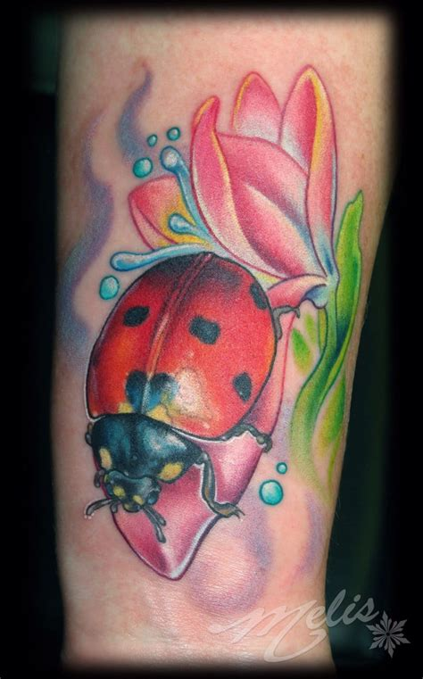 new school ladybug tattoo 13 really cool lady bug tattoos tattoodo