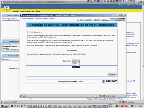 descarga pdt renta anual 2015 instrucciones para descargar el archivo personalizado