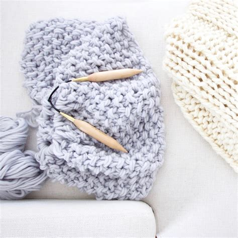 knitting blanket with circular needles free chunky wool blanket pattern