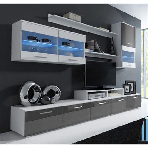 mobile soggiorno bianco mobile soggiorno lucia bianco e grigio mod 2 standard