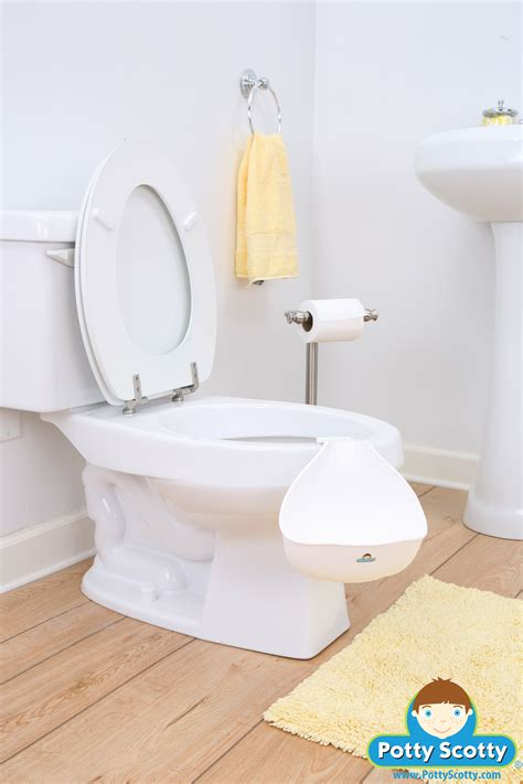 how to your to potty in the toilet weeman potty by potty scotty baby n toddler