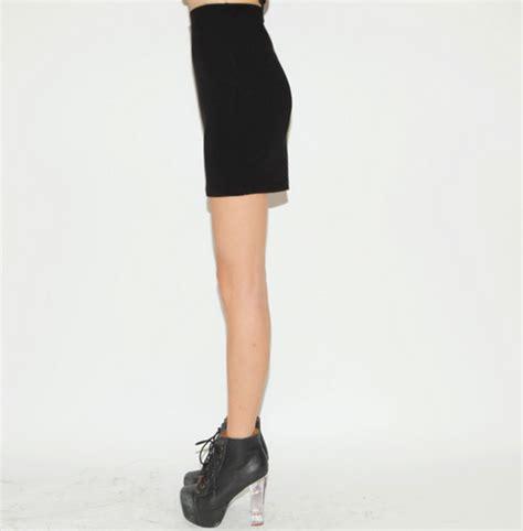 Basic Dress Wl by Stylenanda Basic Black Mini Skirt Kstylick