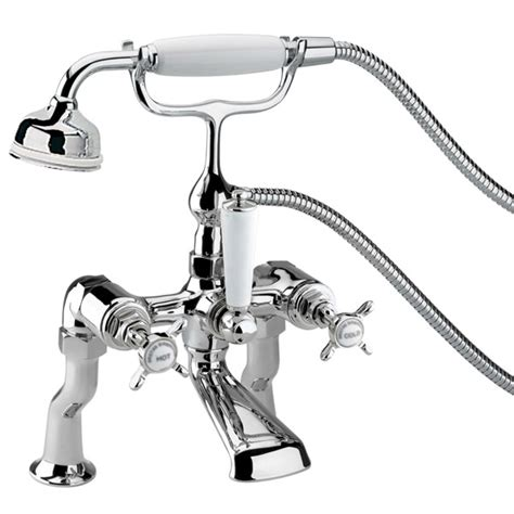 bath shower taps heritage dawlish bath shower mixer tap chrome tdcc02