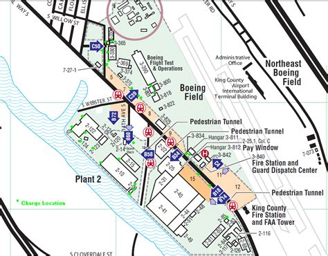 Boeing Plant 2 Heliport King by Boeing Renton Map Car Interior Design