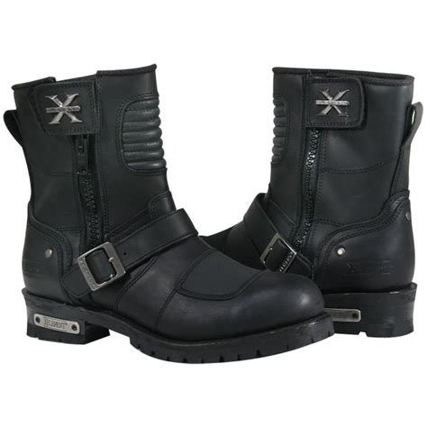 buckle motorcycle boots xelement mens zip buckle motorcycle boots 11 ebay