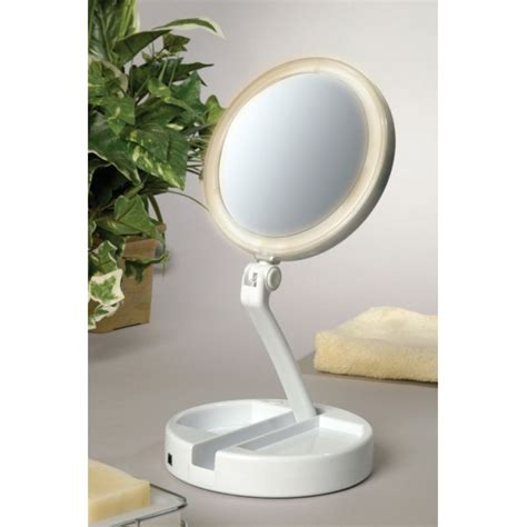 makeup mirror with lights lighted magnifying mirrors iron