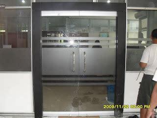Kunci Pintu Kaca Frameless Aluminium Dan Kaca