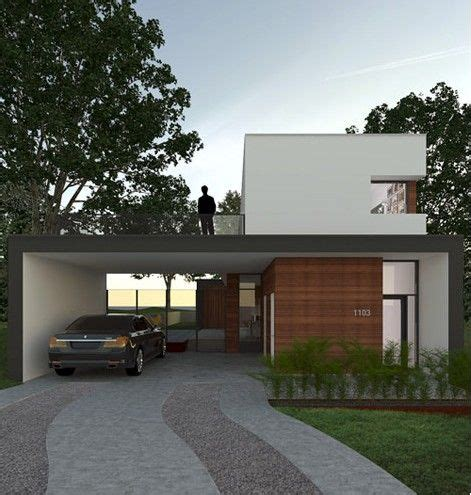 small contemporary house small house architecture small pinterest
