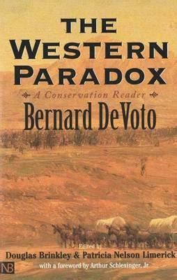 a problematic paradox books the western paradox a conservation reader by bernard