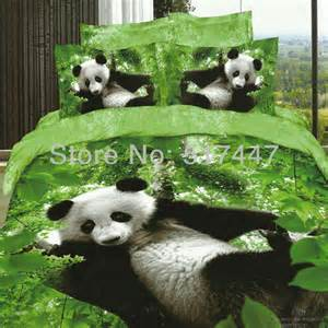 Panda Bed Set Panda Bed Sheets Promotion Online Shopping For Promotional