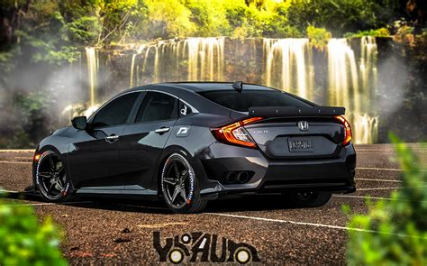 honda civic modified honda civic 2016 virtually modified spotting hobbies