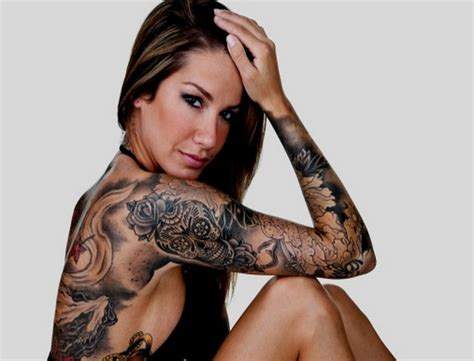 best female tattoos 7 sleeve on