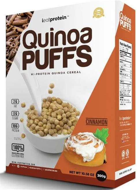 the high protein puffed quinoa nutrition facts nutrition