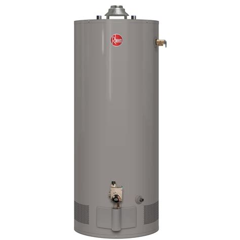 rheem performance power vent 50 gallon gas water heater