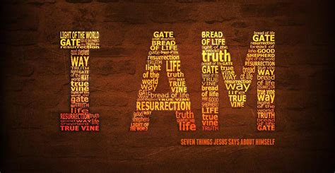 I Am The i am the resurrection and the river christian