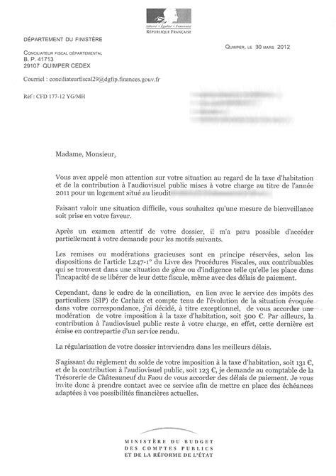 Exemple De Lettre Gracieuse modele lettre retard declaration d impots