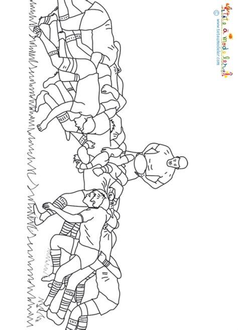 M 234 L 233 E De Rugby Coloriage Rugby Sur T 234 Te 224 Modeler Dessin A Imprimer De Coloriage Magique L