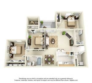 Apartment 3 Bedroom Glade Creek Roanoke Va Apartments Floor Plans And