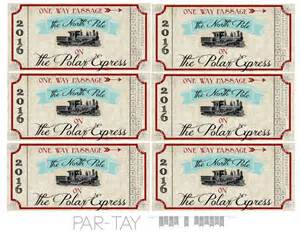 ticket sles template polar express tickets free printable like a