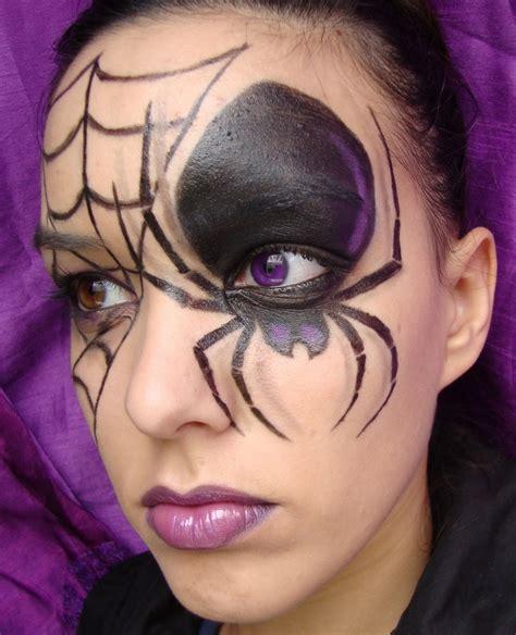 imagenes de maquillaje halloween para niños como maquillarse para noche de hallowen