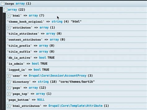 drupal theme variables how to print variables using kint in drupal 8 webwash