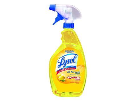 lysol brand ea  purpose cleaner lemon  oz spray bottle ebay