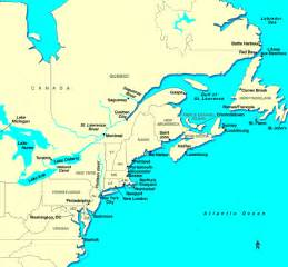 map of new and canada canada cruises canadian cruises cruise to canada