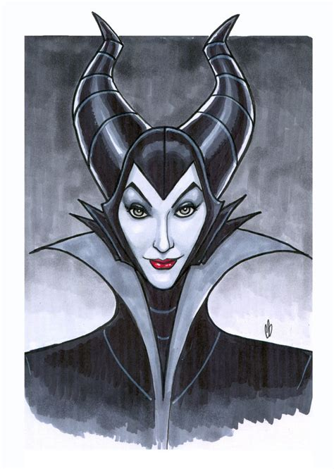 the malice of maleficent by bigchrisgallery on deviantart