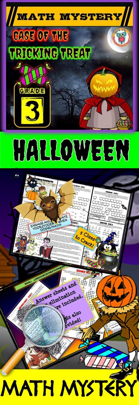 math student and halloween on pinterest 1000 images about halloween math ideas on pinterest