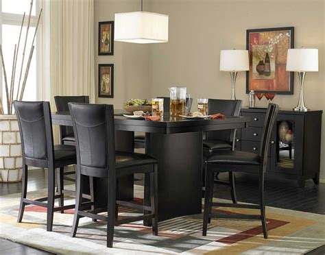 countertop dining room sets homelegance daisy counter height dining set d710 36 set