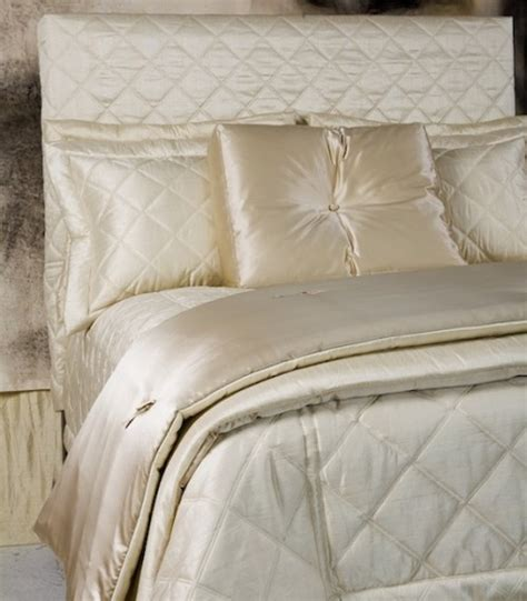 silk coverlet a touch of lace