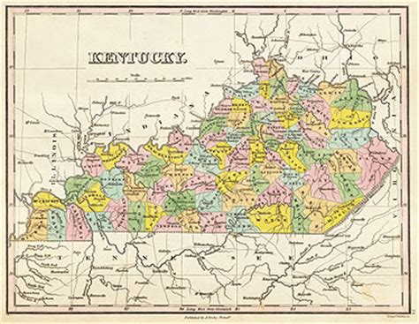 kentucky map 1800 map ky 1800