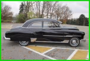 1951 chevrolet styleline deluxe 2 door used automatic