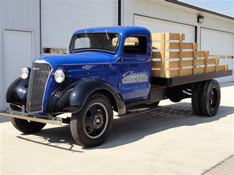 chevrolet 1 ton truck 1937 chevrolet 1 1 2 ton flatbed truck 113068
