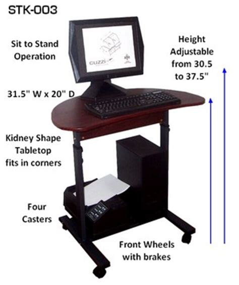 desk 39 inches wide s 003 32 quot sit stand height adjustable computer desk