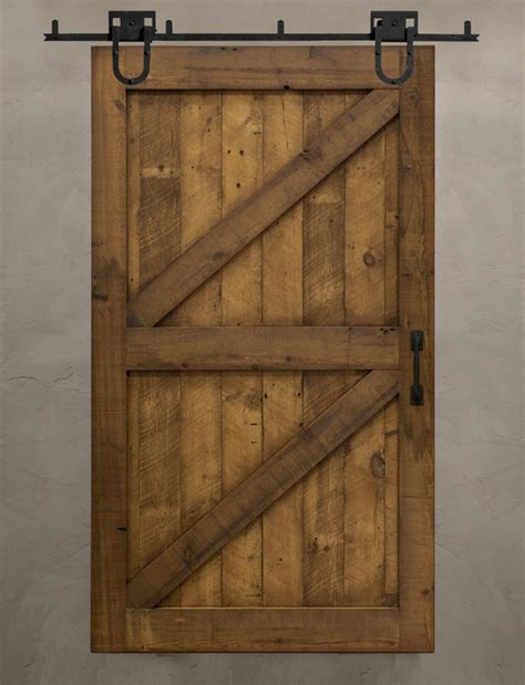 Frame Panel Reclaimed Barn Doors Barn Front Door