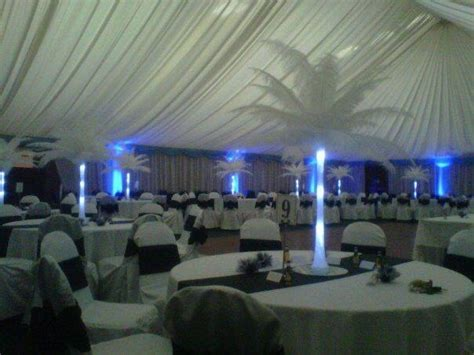 Wedding decorations Stirling rugby club   Party People