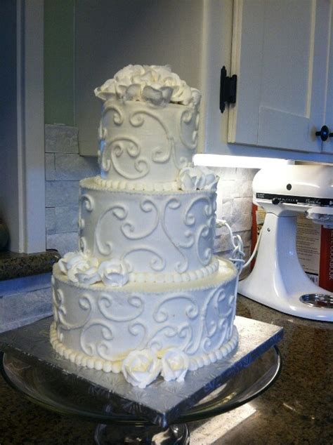 Wedding Cake No Fondant by Beautiful Buttercream No Fondant Cake Cakes