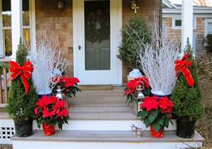 Porch Decorations For Christmas 17 framed entryways outdoor christmas decoration