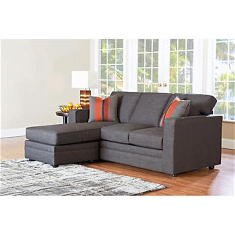 Beeson Fabric Queen Sleeper Chaise Sofa Sofa Sleeper Costco