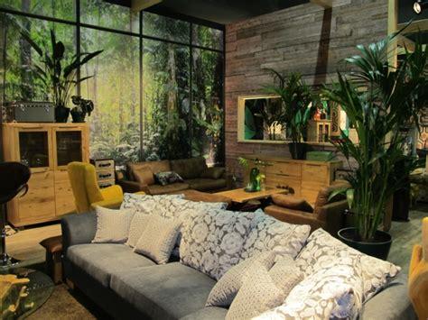wohnzimmer natur zahlreiche deko ideen durch pflanzen im wohnzimmer auf