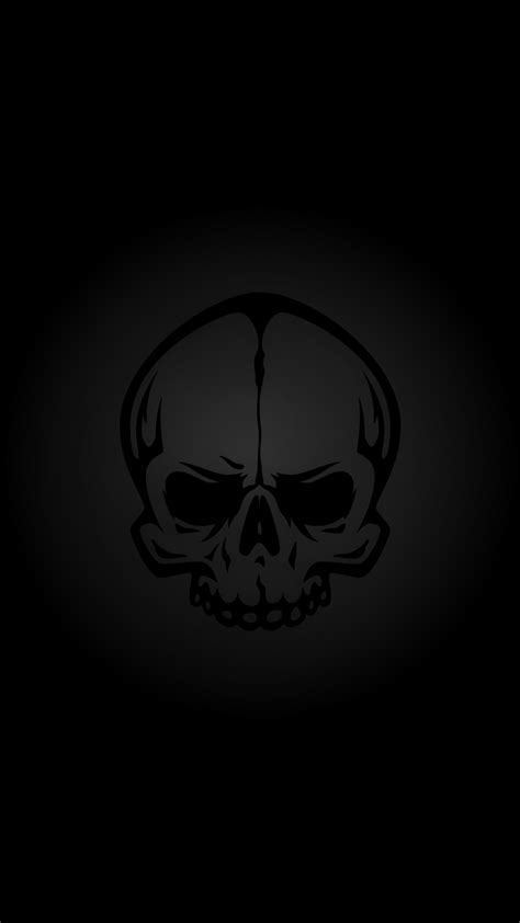 wallpaper for iphone 6 skull black skull hd wallpaper for your iphone 6