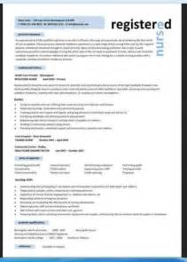 2 sample curriculum vitae format for nurses resumes design