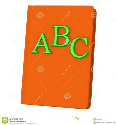 abc book pictures abc book 3d stock photos image 26807903