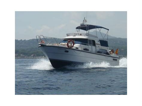 used boats for sale denia nimbus trawler 37 in marina de denia power boats used