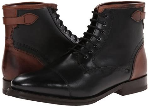 Country Boots Original Handmade Brown Black handmade s black and brown lace up boots mens cap toe
