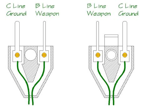 how to wire a 3 prong with 2 wires 7 terminal meter socket wiring diagram get free image