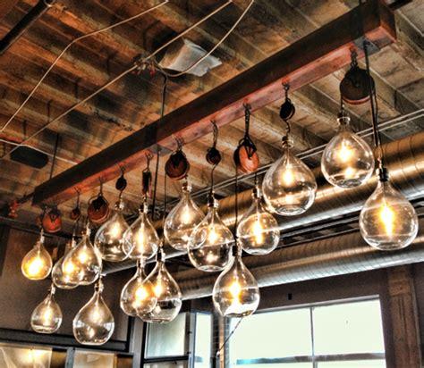 Custom Lighting Fixtures Custom Industrial Light Fixture The Workshop Of Matt Schnell