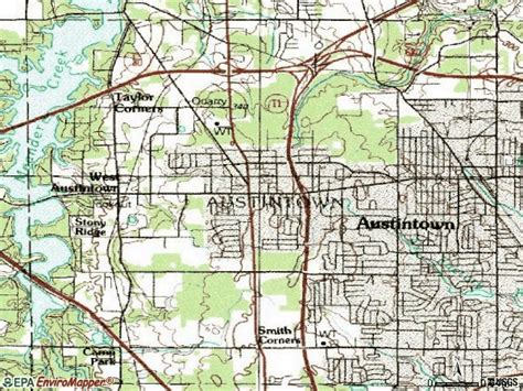 zip code map youngstown oh 44515 zip code austintown ohio profile homes